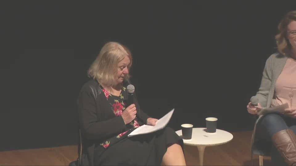 Eda Kriseová speaks at Prague Spring 50
