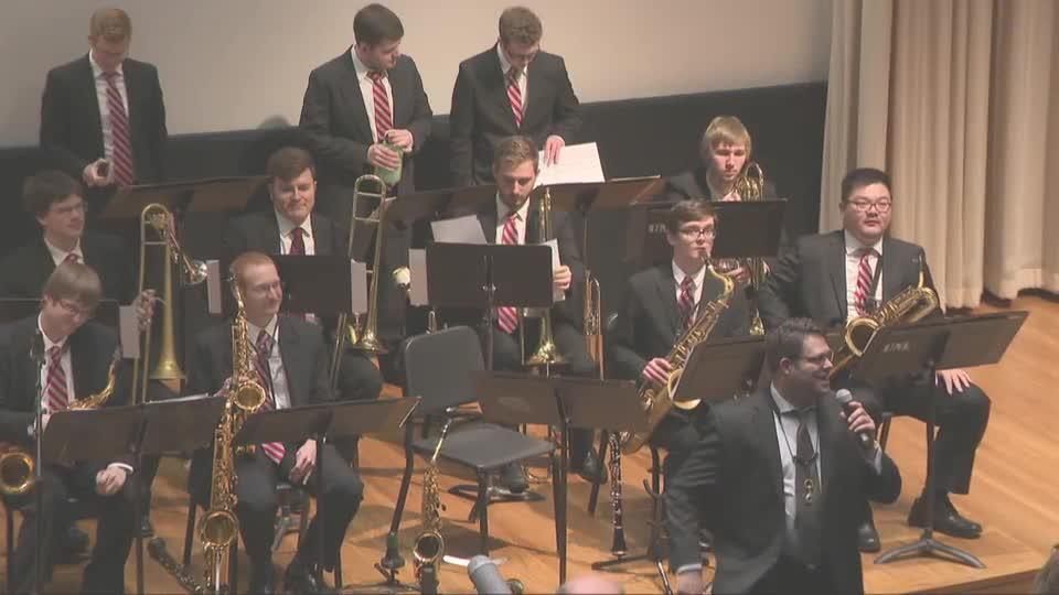 UNL Jazz Ensemble Concert at Prague Spring 50