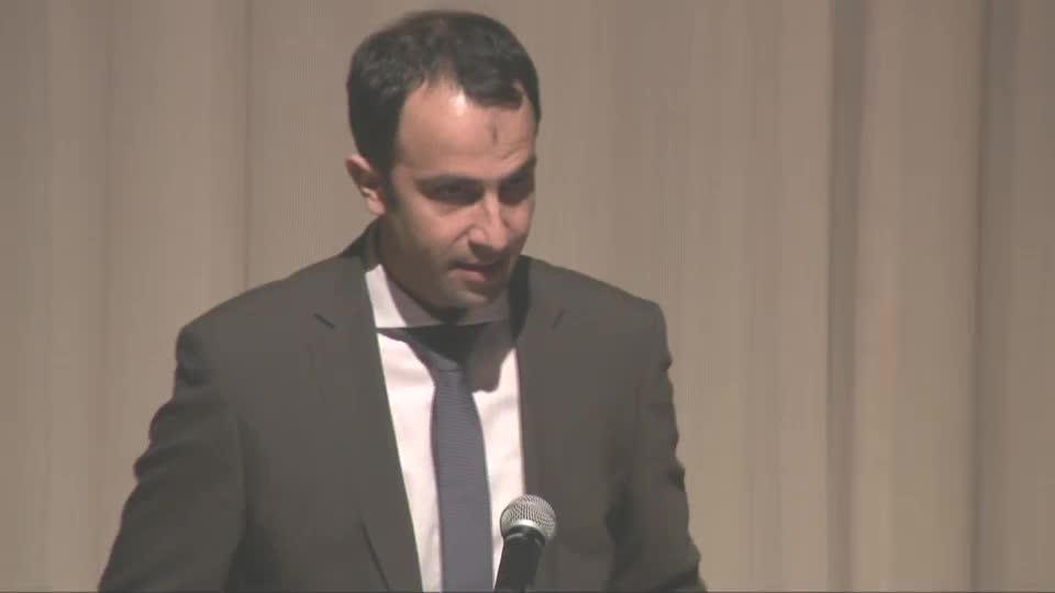 Ehsan Naim speaks at Prague Spring 50