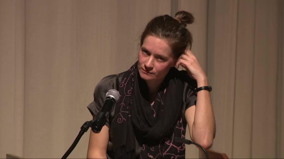 Petra Hůlová speaks at Prague Spring 50