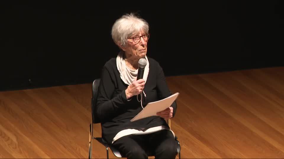 Marketa Goetz-Stankiewicz speaks at Prague Spring 50