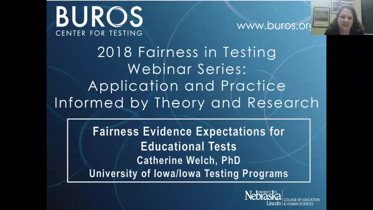 Fairness Evidence Expectations for Educational Tests