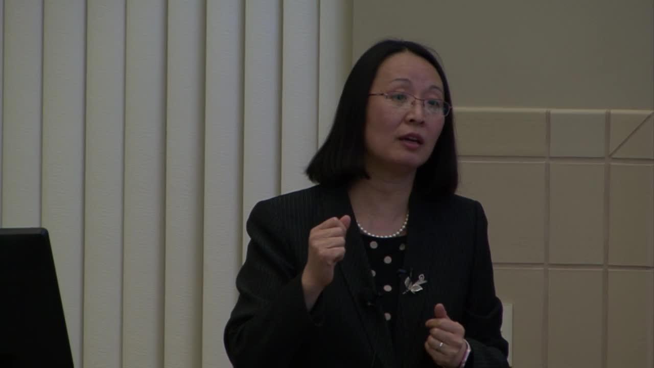 Dr. Mei Wei Public Presentation