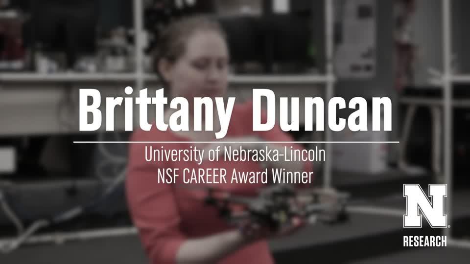 Brittany Duncan CAREER Award