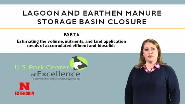 Lagoon and Earthen Manure Storage Basin Closure - Part 1