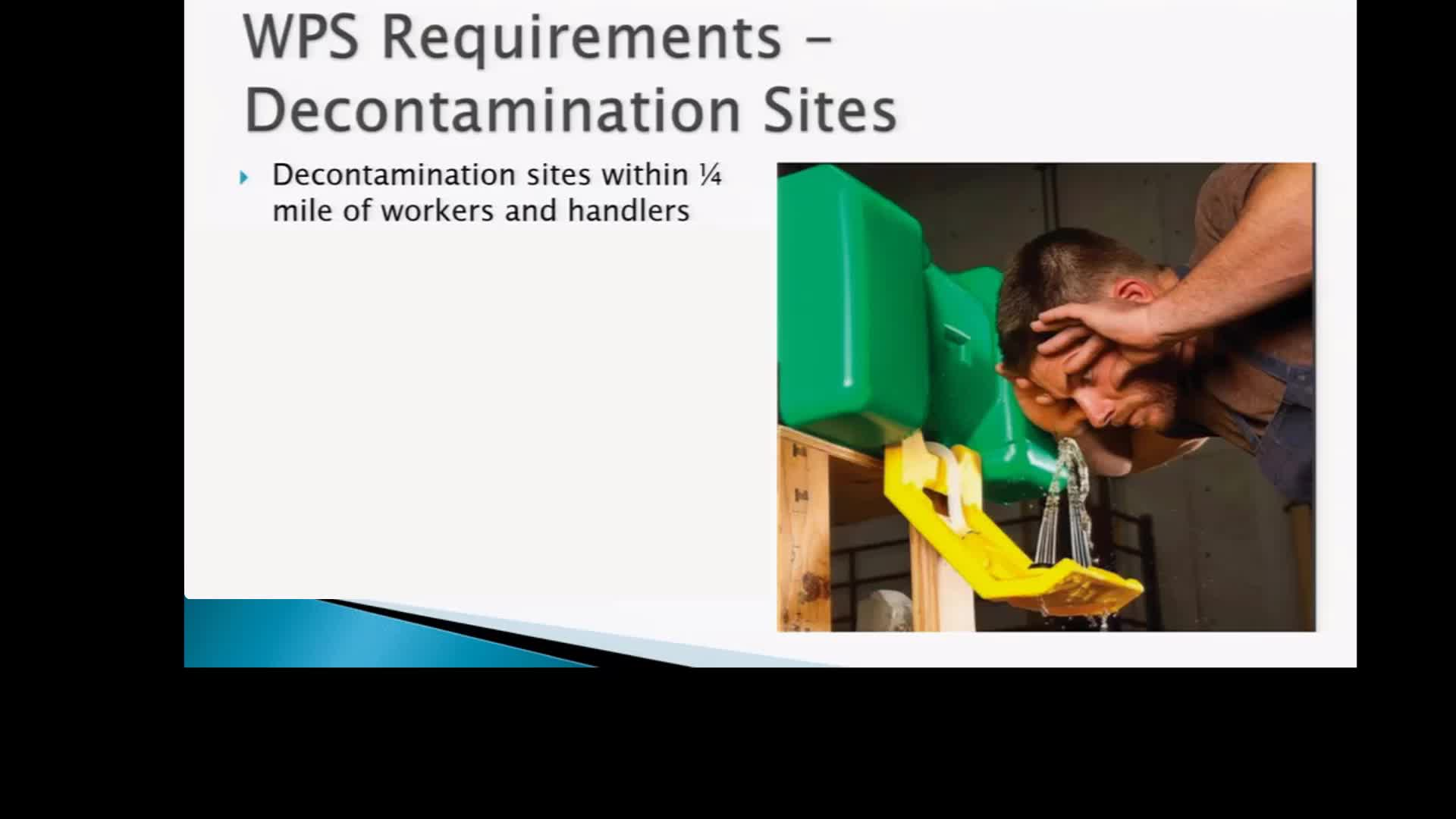 WPS Decontamination Supplies