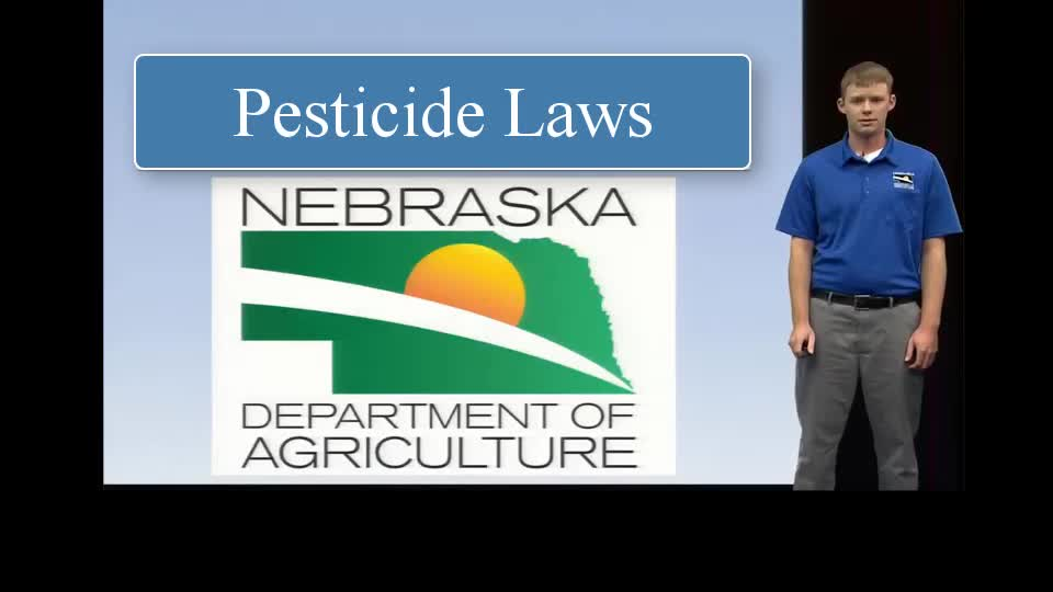 Laws Related to Pesticides in Nebraska