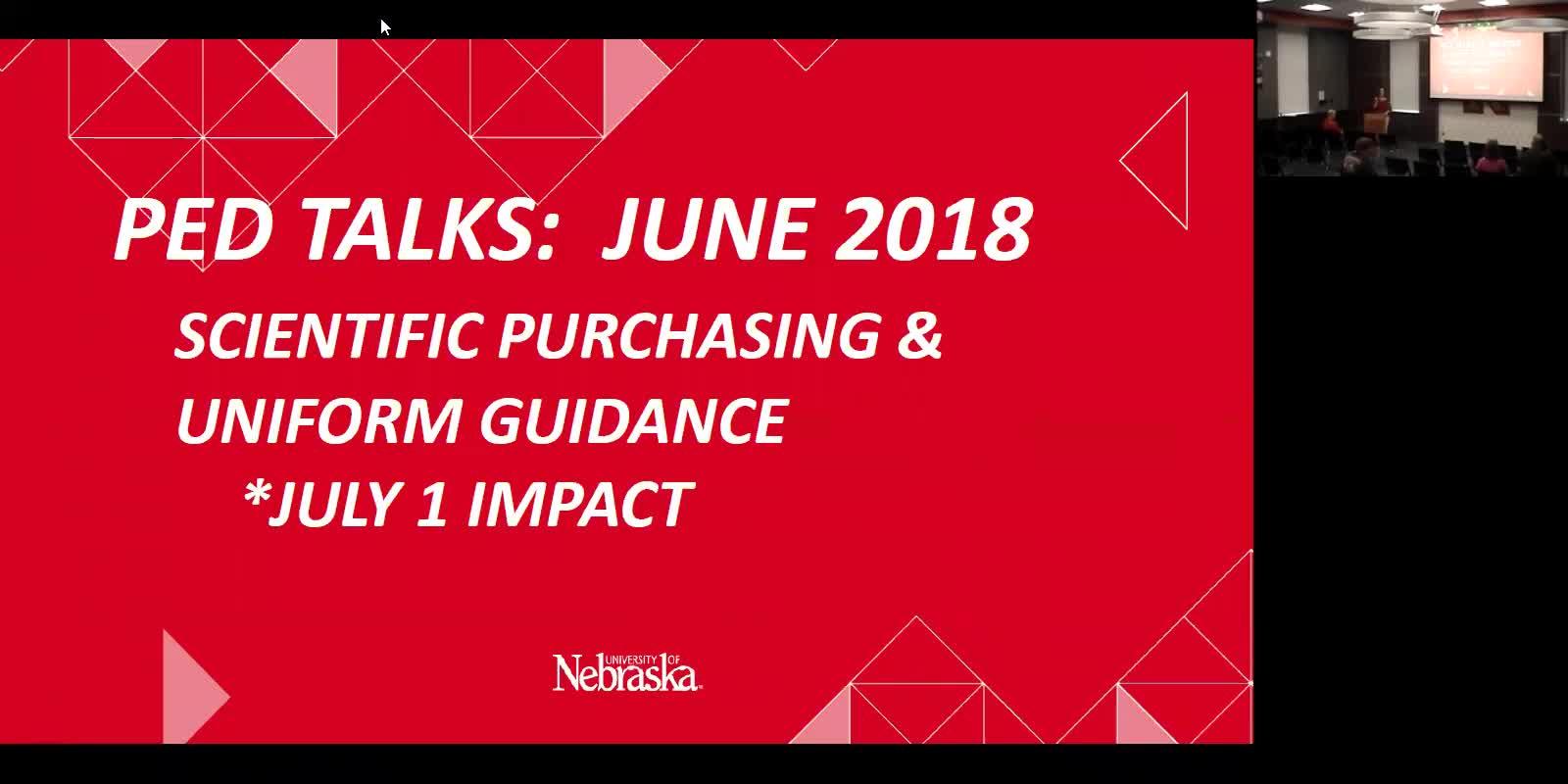 June PED Talk