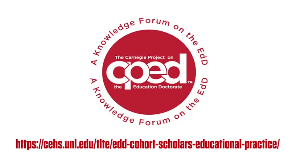 Teaching, Learning & Teacher Education: CPED EdD Cohort
