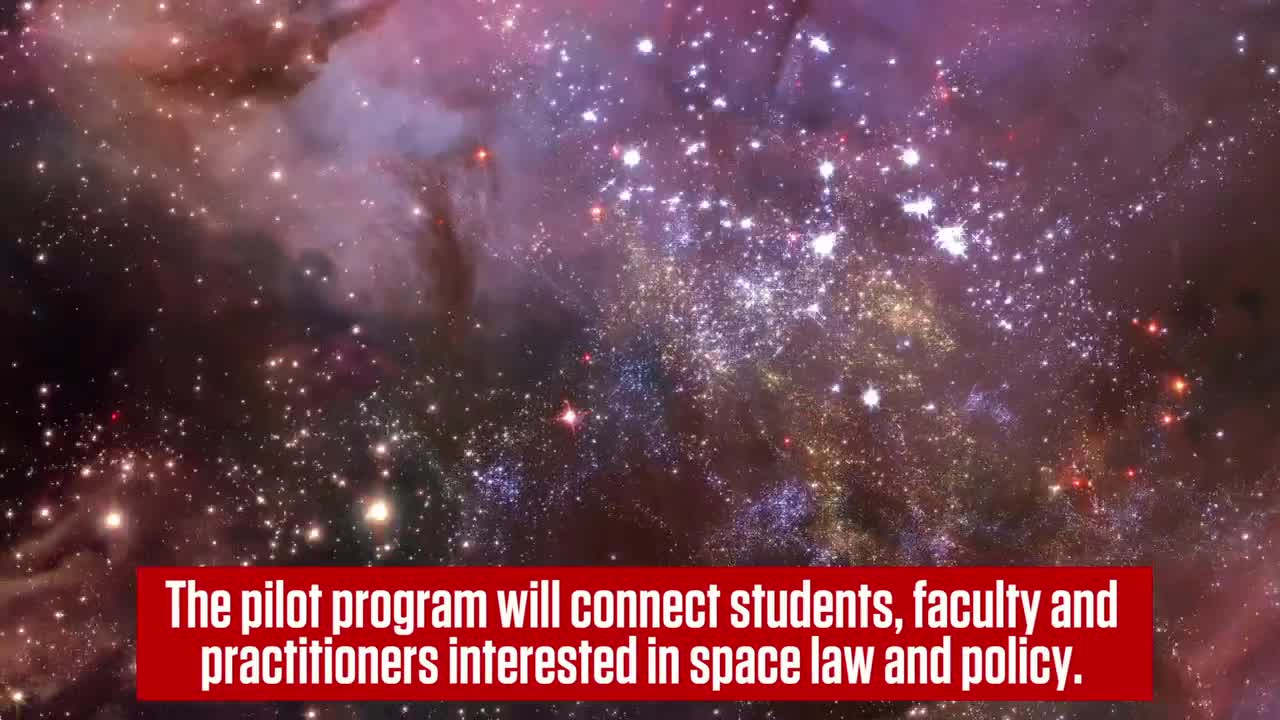 University to Create Space Law Network
